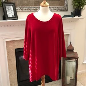 Chico's Ted Tunic Sweater